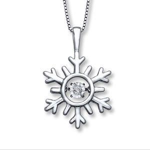 Jewelry - Diamonds in Rhythm Snowflake Necklace